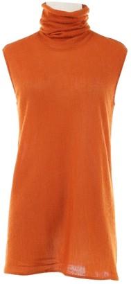 Hermes Orange Cashmere Knitwear for Women