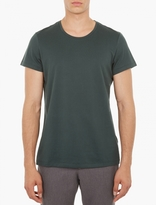 Acne Studios Green Cotton Winter T-shirt