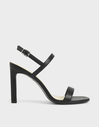 Charles & Keith Slingback Stiletto Heel Sandals