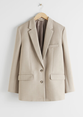 And other stories Oversized Tailored Blazer
