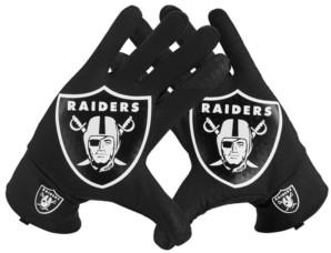 Nike Oakland Raiders Fan Gloves