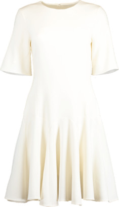 Oscar de la Renta Flounce Hem Shift Dress
