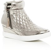 Steve Madden Girls' Jlinqsq Metallic Wedge Sneakers - Little Kid, Big Kid