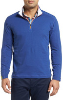 Robert Graham Owens Regular Fit Quarter Zip Pullover