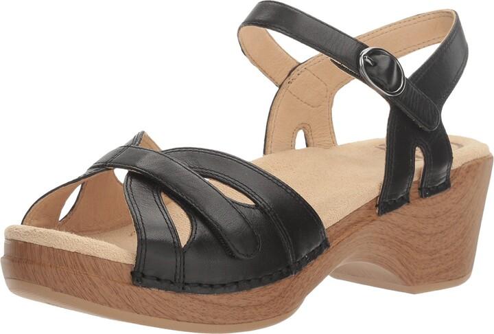 Thumbnail for your product : Dansko Women's Season Black Sandal 10.5-11 M US
