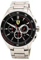Ferrari Men's 0830188 Gran Premio Analog Display Quartz Silver-ToneWatch