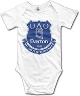 KI3SOP Everton Football Club Logo Onesies Bodysuit For Baby Boys Girls