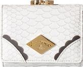 Vivienne Westwood Braccialini Frilly Snake Wallet