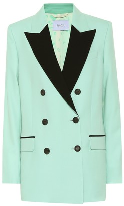 Racil Cambridge wool blazer