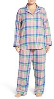 Lauren Ralph Lauren Plus Size Women's Twill Pajamas