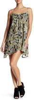 Volcom Laying Low Leaf Print Dress