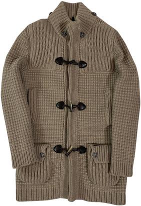 Bark Beige Wool Jackets