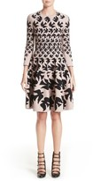 Alexander McQueen Women's Swallow Jacquard Dress