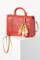 Serpui Marie Suzy Tasseled Box Bag