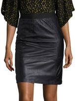 Public School Beena Leather Skirt