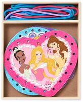 Melissa & Doug Disney Princess Wooden Lacing Cards by