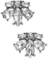 Charter Club Silver-Tone Crystal Stud Earrings, Only at Macy's