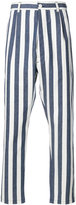 Sunnei striped dropped crotch trousers