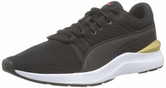 Puma Women's Adela Core Trainers Black Team Gold 5.5 UK 38.5 EU