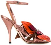 Thumbnail for your product : Marco De Vincenzo Flower Embellished Sandals