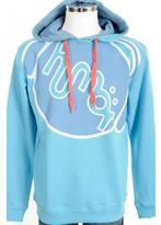 Humör Longo Hooded Jumper Blue