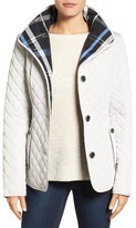 Gallery Women's Plaid Lined Quilted Barn Jacket