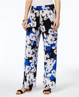 INC International Concepts I.n.c. Petite Printed Soft Pants, Created for Macy's