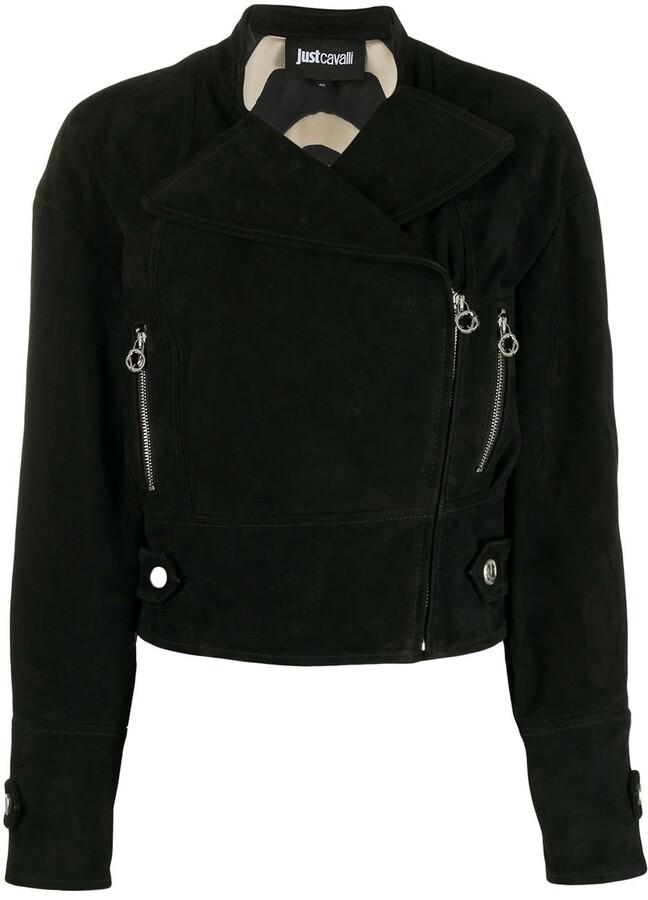Just Cavalli ring-zip jacket