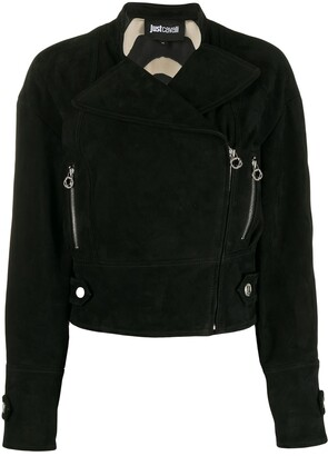 Just Cavalli Ring-Zip Jacket