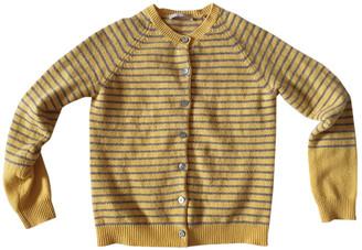 Stefanel Yellow Wool Knitwear