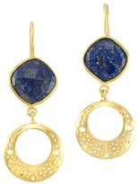 Mela Artisans Persia in Blue Earrings