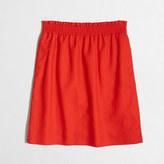 J.Crew Factory Factory linen-cotton sidewalk skirt
