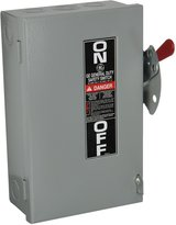 GE ENERGY INDUSTRIAL SOLUTIONS G E Industrial Systems 30A Gd Safe Switch Tg3221cp General Electric Circuit P...
