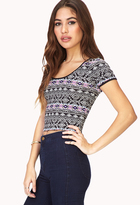 Forever 21 Voyager Crop Top