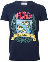 Faith Connexion FCNX University print T-shirt - men - Cotton - S