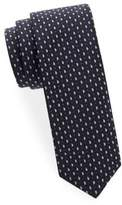 HUGO BOSS Paisley Dots Silk Tie