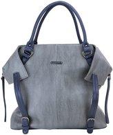 Timi & Leslie Charlie Diaper Bag Set - Gray/Navy