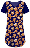 Navy Holiday Cookie Nightgown - Women & Plus