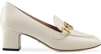 Gucci Zumi block heel loafers