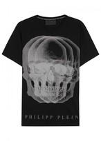 Philipp Plein Kaneko Skull-print Cotton T-shirt