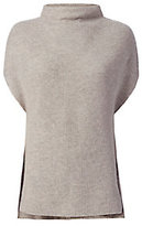 Vince Sleeveless Ribbed Turtleneck: Grey