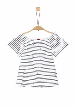 S'Oliver Girls' 403.10.004.12.130.2020998 T-Shirt