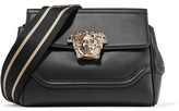 Versace Palazzo Empire Medium Leather Shoulder Bag - Black