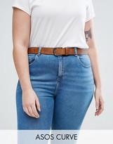Asos Vintage Tan Jeans Belt