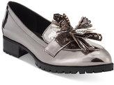 Nine West Leonda Tassel Block Heel Loafers