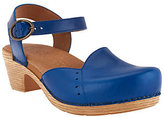 Dansko As Is Closed-toe Sandals w/ Adj. Ankle Strap - Maisie