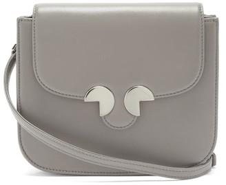 Rodo Leather Cross-body Bag - Grey