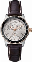 Nautica Men's Stainless Steel White Dial AnalogWatch