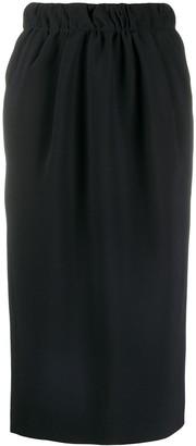 No.21 Chain-Detail Pencil Skirt