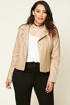 Forever 21 Plus Size Moto Jacket